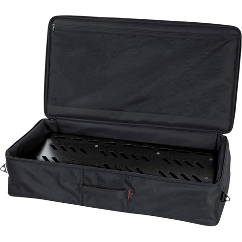 Gator Cases Aluminum Pedalboard with Carry Case (Black, Extra Large)