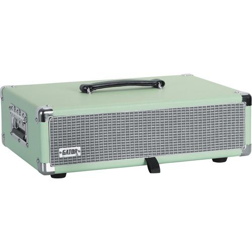 Gator Vintage Amp Vibe Rack Case - 2U (Seafoam Green)