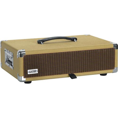 Gator Vintage Amp Vibe Rack Case - 2U (Tweed)
