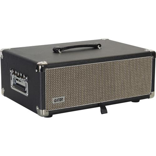 Gator Vintage Amp Vibe Rack Case - 3U (Black)