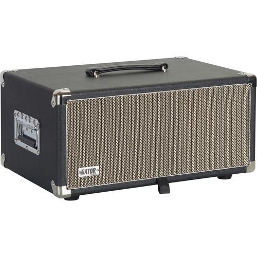 Gator Cases Vintage Amp Vibe Rack Case - 4U (Black)