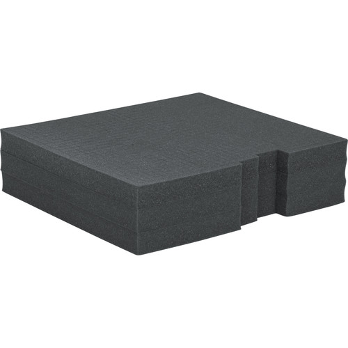 Gator Cases Replacement Diced Foam Block for Rackworks Standard-Depth 3 RU Drawer