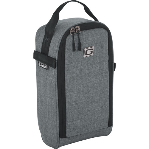 Gator Cases Attachable Guitar Accessory Bag Add-On for Transit Series Gig Bags (Gray)