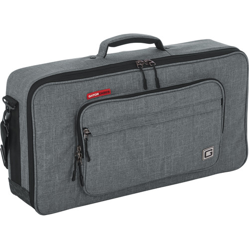 "Gator Cases Bag Hold/Carries Mini Keyboards, Mixers, Drum Machines,24""X12"" Internal Dims"