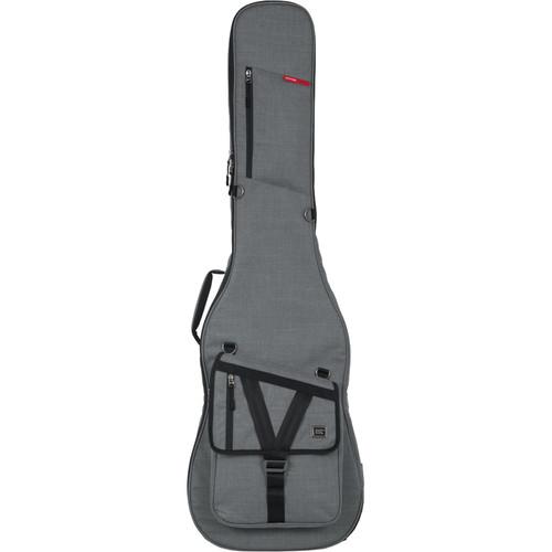 Gator Cases Transit Series Gig Bag for Bass Guitar (Light Gray)