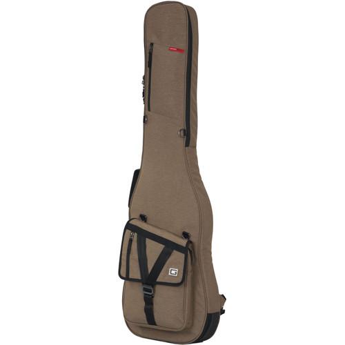 Gator Cases Transit Series Gig Bag for Bass Guitar (Tan)