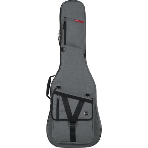 Gator Cases Transit Series Gig Bag for Electric Guitar (Light Gray)