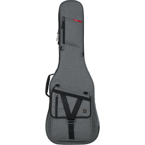 Gator Cases Transit Series Gig Bag for Electric Guitar (Light Gray)