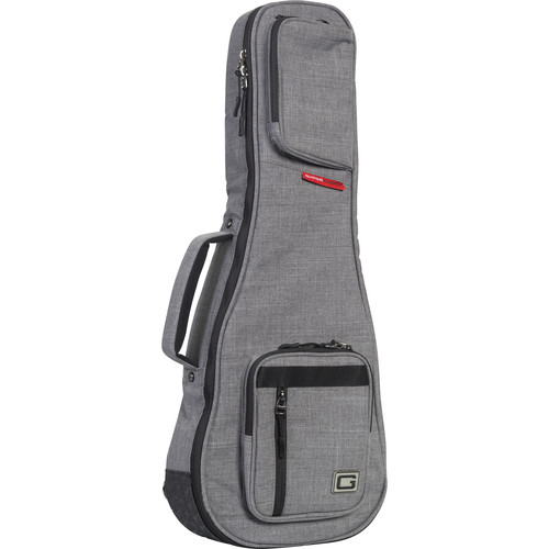 Gator Cases Gray Transit Bag for Concerto Ukulele