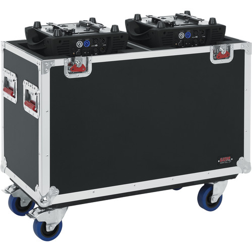 Gator Cases G-Tour Flight Case for Two 250-Style Moving Head Lights (Black)