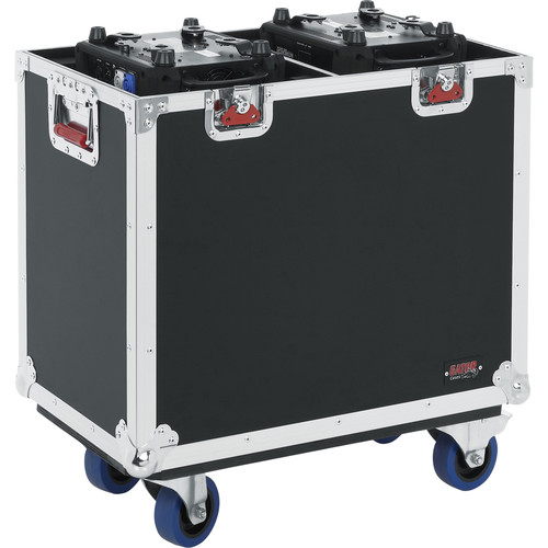 Gator Cases G-Tour Flight Case for Two 350-Style Moving Head Lights (Black)