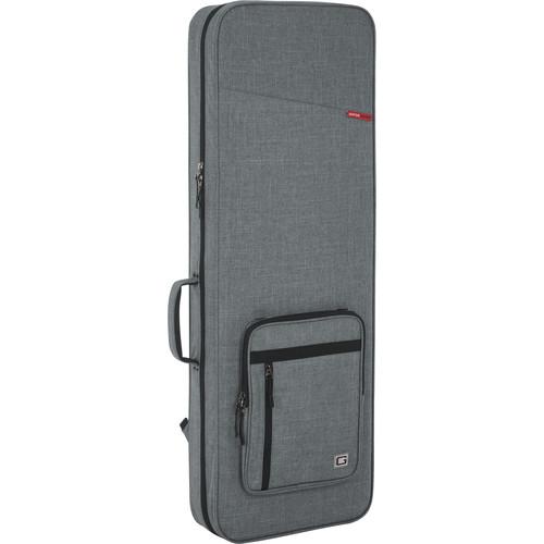 Gator Rigid EPS Transit Series Lightweight Case for Electric Guitars (Light Grey with Black Interior)