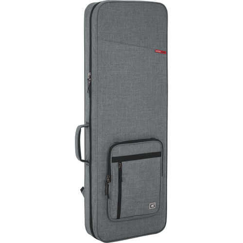 Gator Cases Rigid EPS Transit Series Lightweight Case for Electric Guitars (Light Grey with Black Interior)