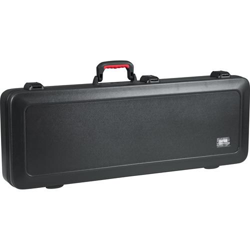 Gator Cases GTSA-GTRELEC-LED TSA Series ATA Molded Case with Built-In LED Light for Electric Guitars (Black)