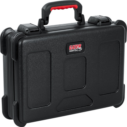 Gator Cases GTSA-MICW6 ATA-Molded Polyethylene Case with Foam Drops for up to 6 Wireless Microphones