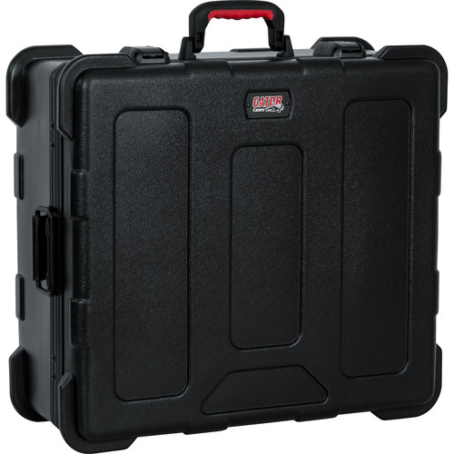 "Gator Cases ATA Molded Mixer Case with 12U Pop-Up Rack Rails (21 x 19 x 7.5"")"
