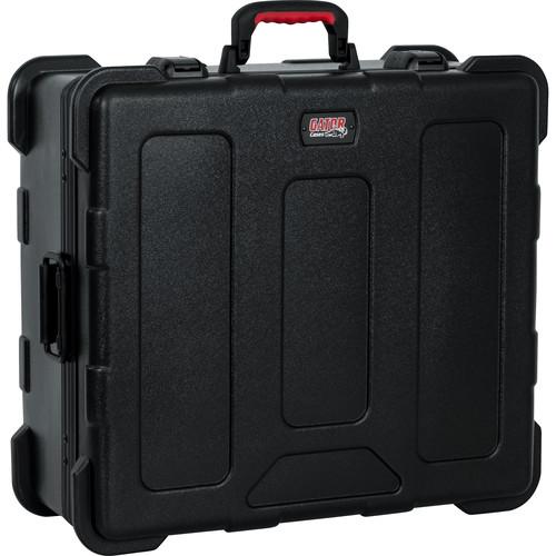 "Gator Cases ATA Molded Mixer Case with 12U Pop-Up Rack Rails (21 x 19 x 7.5"")"