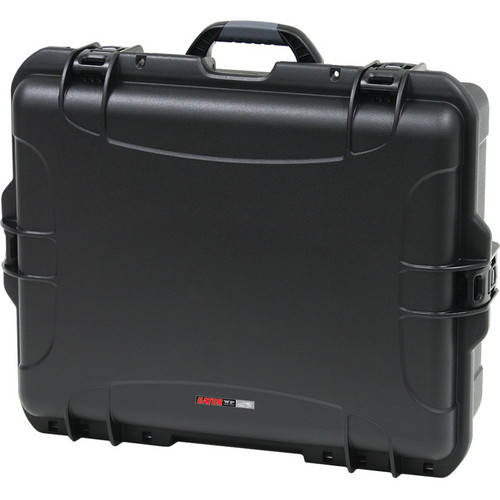 "Gator Cases Waterproof Injection-Molded Case with Diced Foam (Black, 8.2x17x22"")"