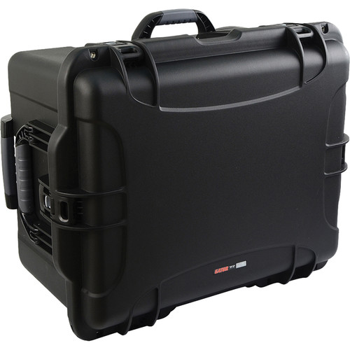 Gator GU-2217-13-WPDF Injection-Molded Case with Diced Foam (Black)