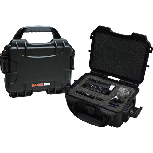 Gator Cases Waterproof Injection-Molded Case for Zoom Q4HD Handheld Video Recorder & Accessories