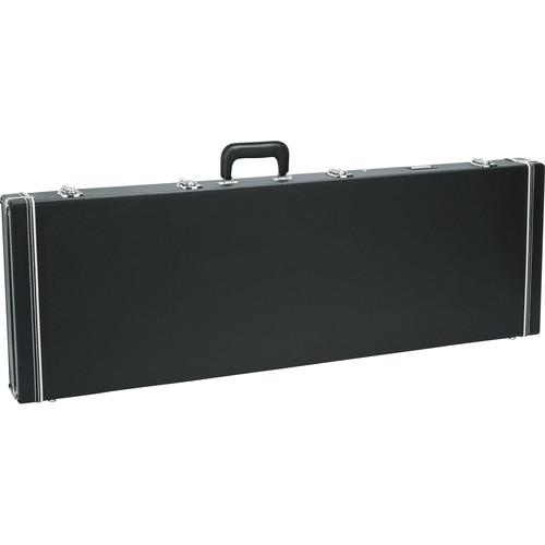 Gator Cases GW-BASS Bass Guitar Deluxe Wood Case (Black)