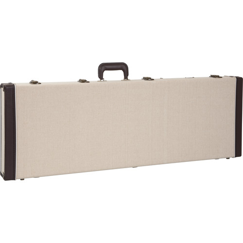 Gator Cases Journeyman Bass Guitar Deluxe Wood Case (Beige)