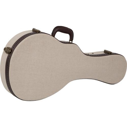 Gator Cases Deluxe Wood Case for Mandolin (Beige)