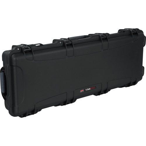 Gator Cases GWP-ELECTRIC Titan Series Guitar Case for Standard Strat/Tele Style Electric Guitar