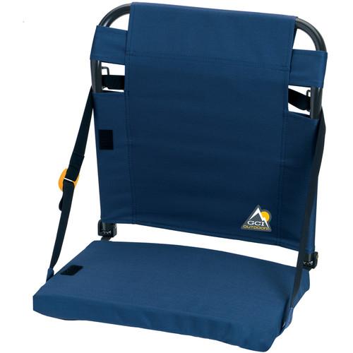GCI Outdoor BleacherBack Stadium Seat (Navy)