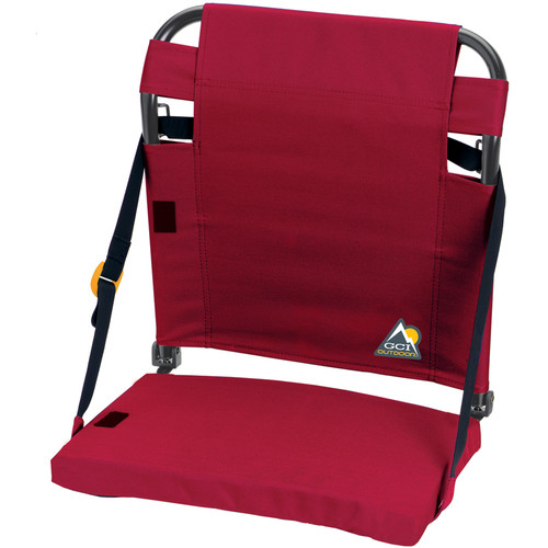 GCI Outdoor BleacherBack Stadium Seat (Red)