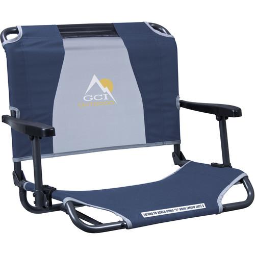 GCI Outdoor Big Comfort Stadium Chair with Armrests (Navy)