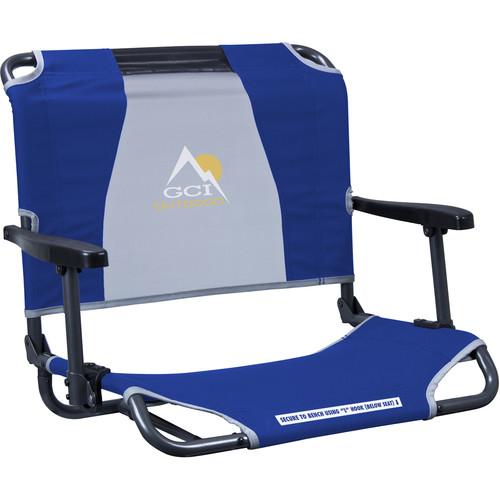 GCI Outdoor Big Comfort Stadium Chair with Armrests (Royal)