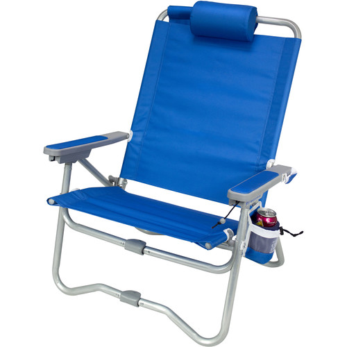 GCI Outdoor Bi-Fold Beach Chair (Saybrook Blue)