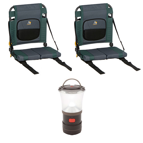 GCI Outdoor SitBacker Canoe Seat Kit (Hunter Green)