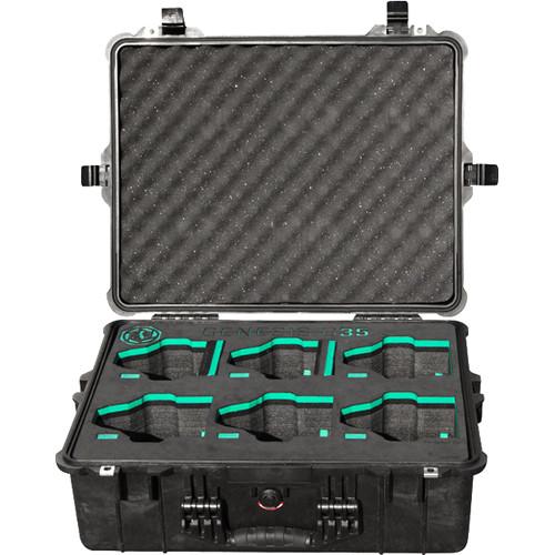 GECKO-CAM Case for 6 Genesis Lenses