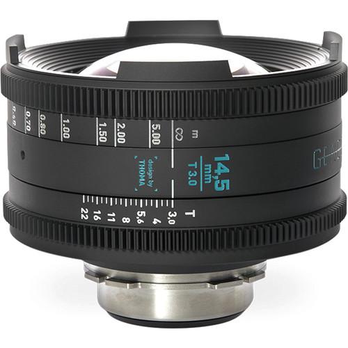 GECKO-CAM Genesis G35 14.5mm T3.0 Cine Lens (EF Mount)