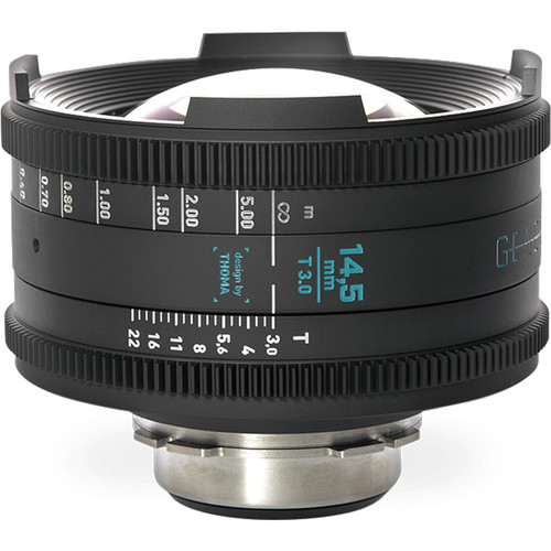 GECKO-CAM Genesis G35 14.5mm T3.0 Cine Lens (MFT Mount)