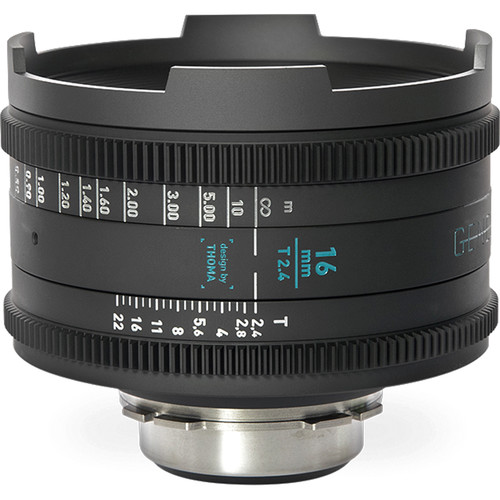 GECKO-CAM Genesis G35 16mm T2.4 Cine Lens (F Mount)
