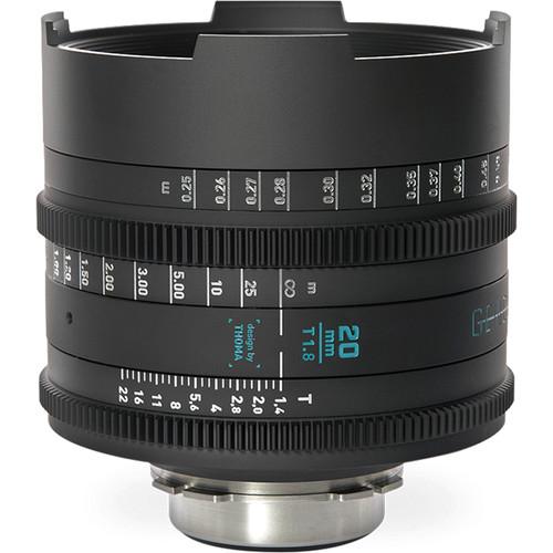 GECKO-CAM Genesis G35 20mm T1.8 Cine Lens (F Mount)