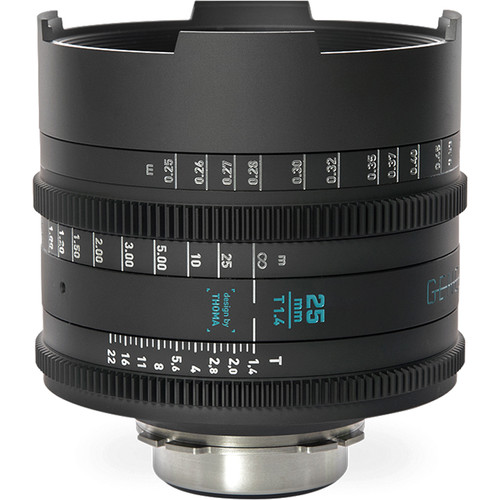 GECKO-CAM Genesis G35 25mm T1.4 Cine Lens (EF Mount)
