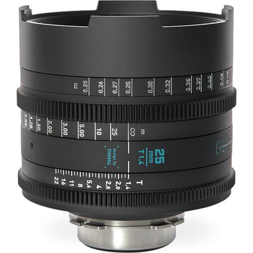 GECKO-CAM Genesis G35 25mm T1.4 Cine Lens (F Mount)