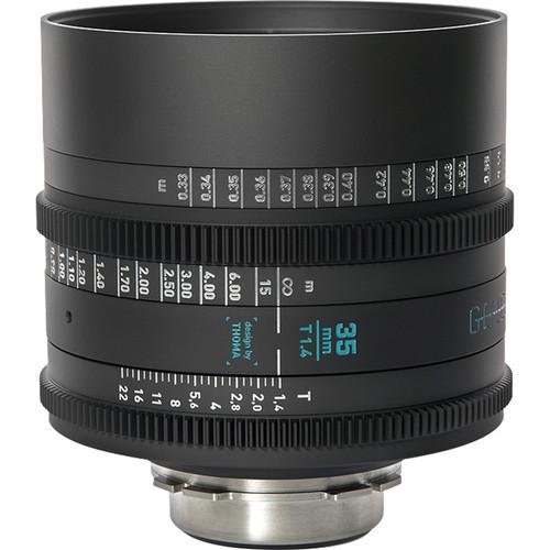GECKO-CAM Genesis G35 35mm T1.4 Cine Lens (F Mount)