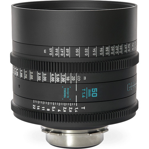 GECKO-CAM Genesis G35 50mm T1.4 Cine Lens (PL Mount)