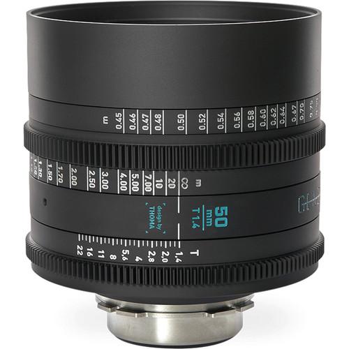 GECKO-CAM Genesis G35 50mm T1.4 Cine Lens (MFT Mount)