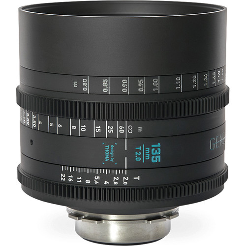 GECKO-CAM Genesis G35 135mm T2.0 Cine Lens (F Mount)