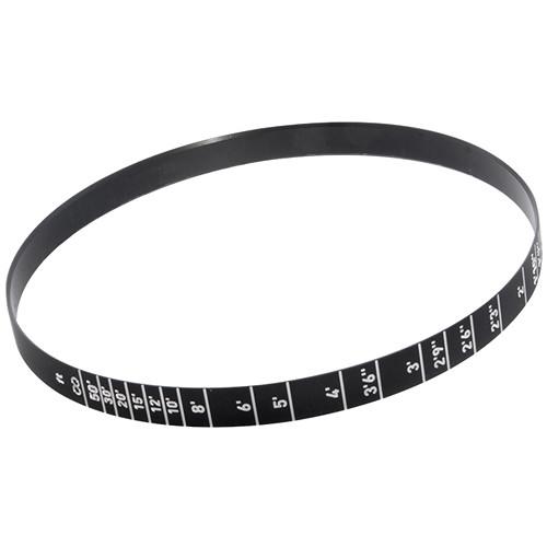 GECKO-CAM Focus Scale Ring for Genesis G35 20mm Lens (Feet)