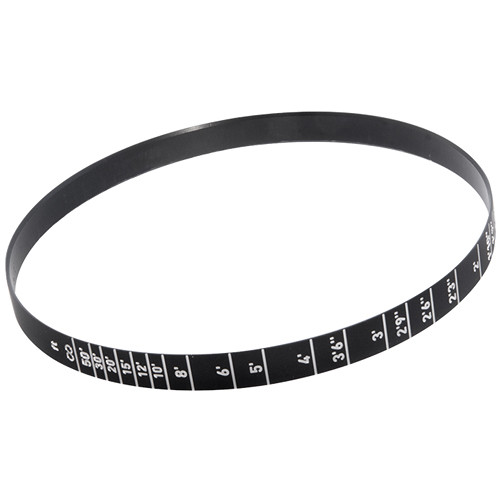 GECKO-CAM Focus Scale Ring for Genesis G35 25mm Lens (Feet, Rear)
