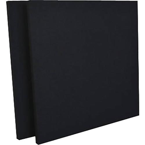 "geerfab acoustics ProZorber Acoustic Panels (24 x 24 x 1"", Black, Set of 2)"