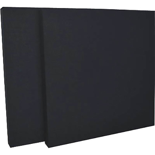 "geerfab acoustics ProZorber Acoustic Panels (24 x 24 x 2"", Black, Set of 2)"