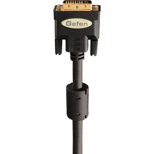 Gefen Dual-Link Male to Male Copper DVI Cable (50', Black)